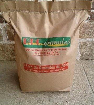 sac 15kg granulés
